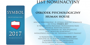 Symbol 2017 – List Nominacyjny